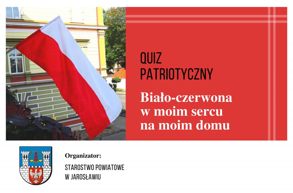 """Quiz patriotyczny """"Biało-czerwona…"""""""
