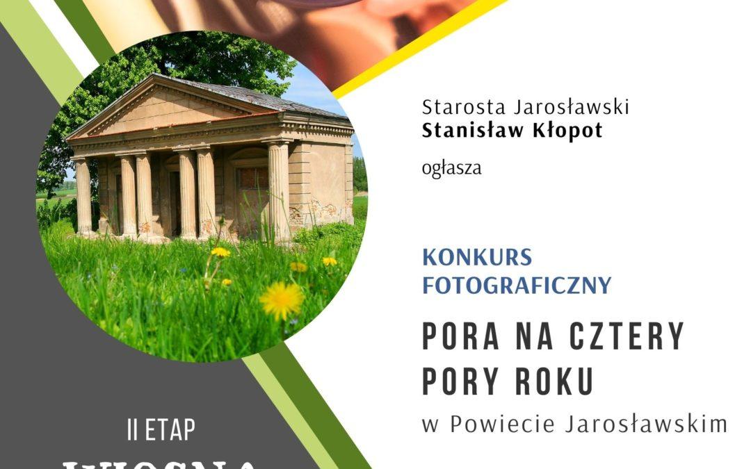 """Konkurs Fotograficzny """"Pora na 4 pory roku"""" WIOSNA"""